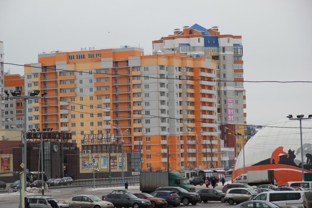 2 комнатная квартира в Московском микрорайоне