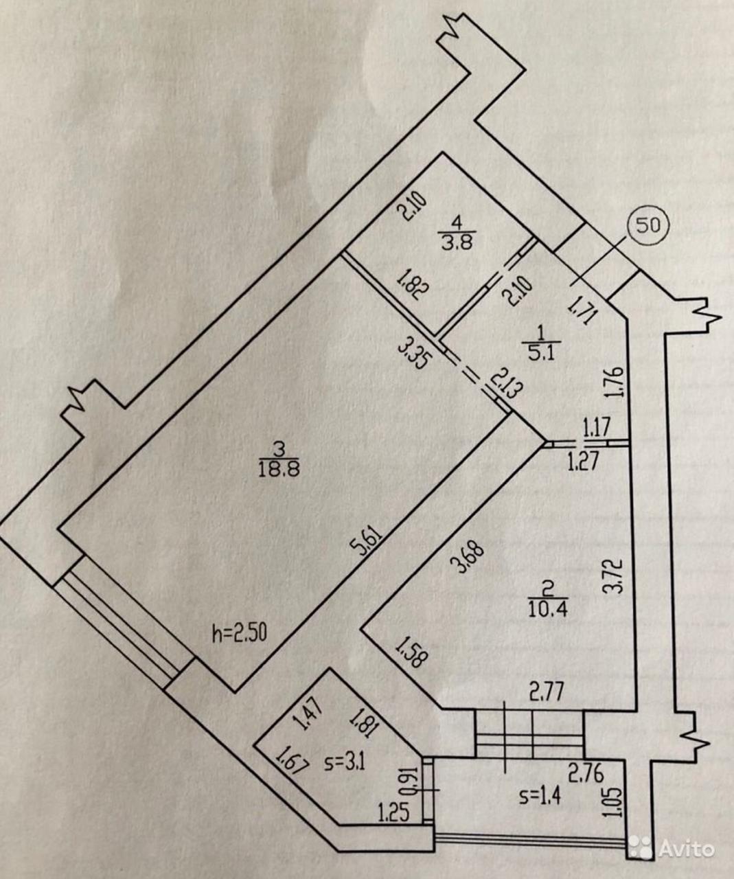 1 комнатная квартира по ул.Советской, 62